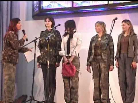 Если бы женщин тоже призывали в армию)))