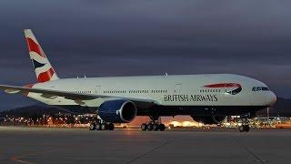 FSX Epic Long Flight Freeware Wing View Bombay India (VABB) to Newark NJ (KEWR) British Airways 777