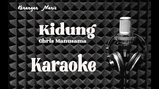 KIDUNG (Chris Manusama) - KARAOKE