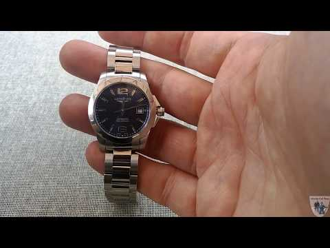 Longines Ladies Conquest L3 276 4 99 6 Watch Review