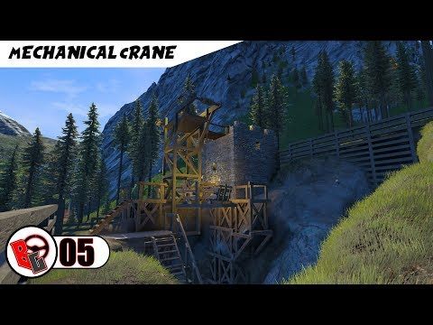 Mechanical Crane - Medieval Engineers S2 E5