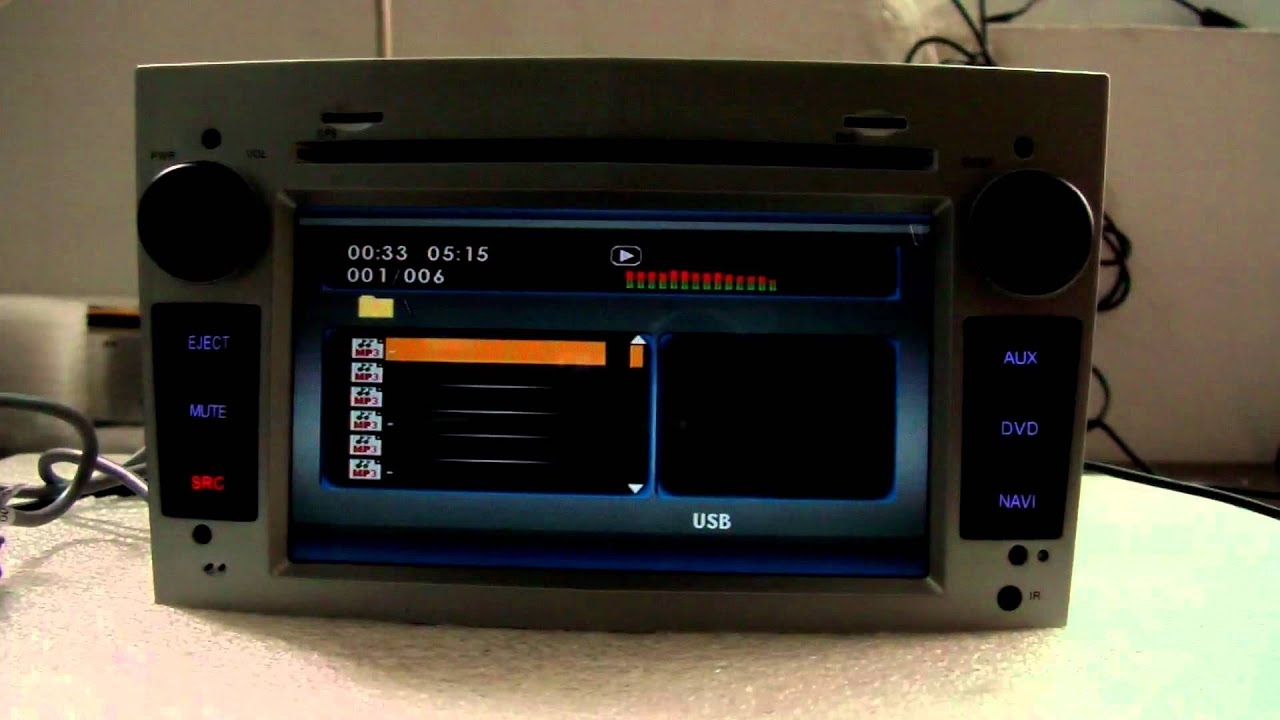 Special Car DVD Player with GPS for Opel Astra