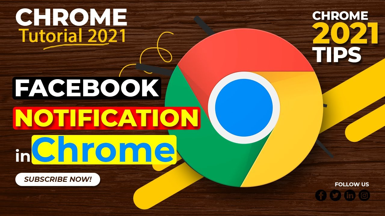 Turn Off/On Chrome Notifications from Facebook - Get Facebook Notifications on Google Chrome   DiY.