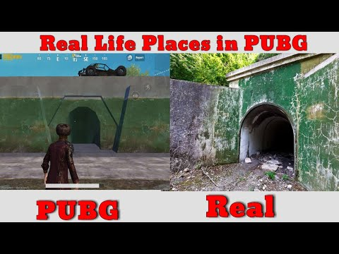 Real Life Places In Pubg Real Life Erangel Part 2 Youtube