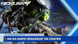 AN-94-Knife-Space Ship on Crater (Challenge Mode) | CROSSFIRE China 2.0