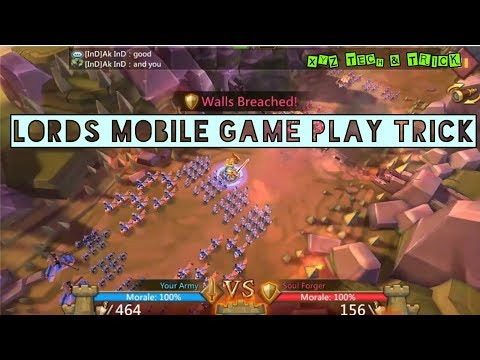 How To Play And Download LORDS MOBILE , Lords Mobile Game Ko Kese Khele