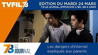 7/8 Le Journal – Edition du mardi 24 mars 2015
