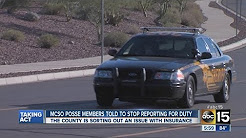 Maricopa County Posse members told to stop reporting for duty