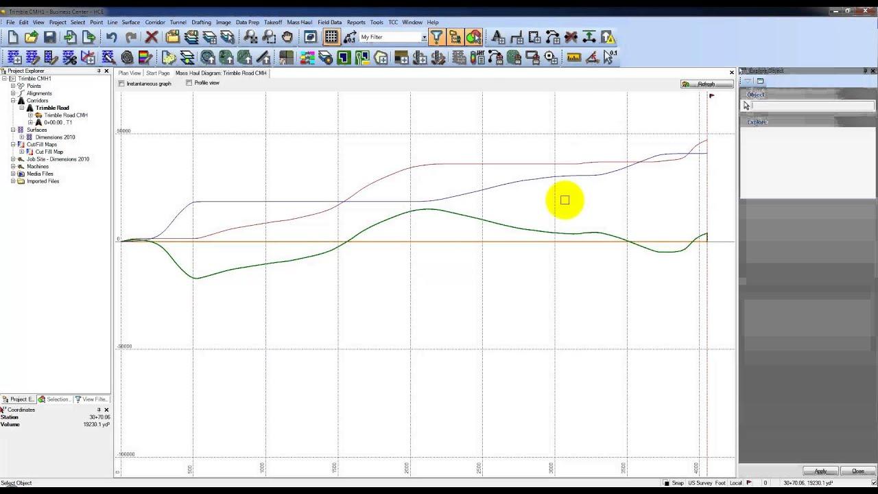 Mass Haul Diagram Explained 1993 Toyota Celica Radio Wiring Corridor 4 Analyze The Youtube