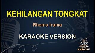 Kehilangan Tongkat Rhoma Irama ( Karaoke Dangdut Koplo )