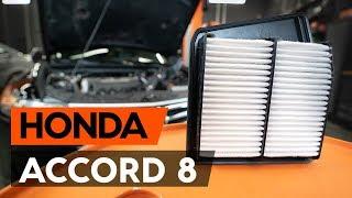 Reemplazar Filtro de aire motor HONDA ACCORD: manual de taller