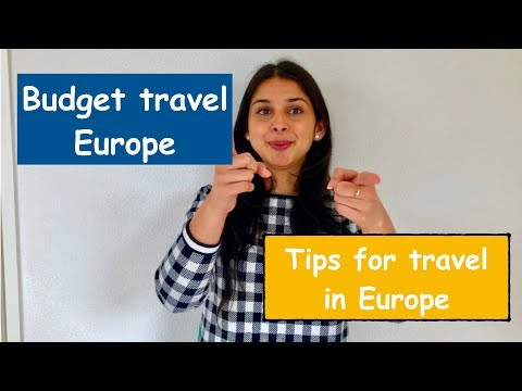 How to travel Europe by Bus |budget travel