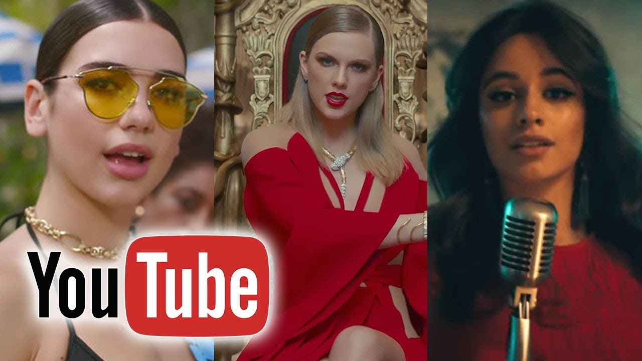 YouTube - Top 100 Most Viewed Music Videos Of 2017 - YouTube