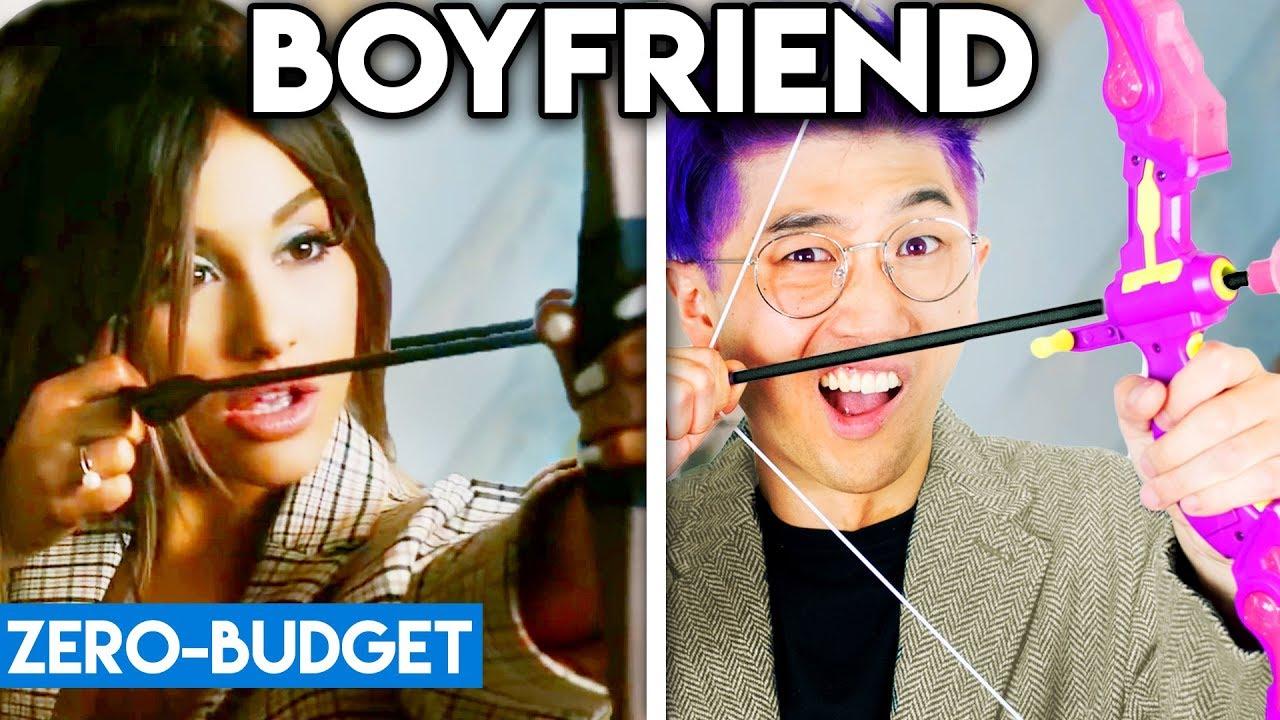 Download ARIANA GRANDE WITH ZERO BUDGET! (Boyfriend PARODY)