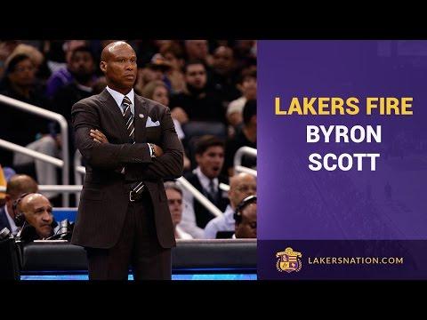 Lakers Fire Head Coach Byron Scott