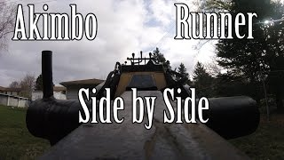 Video Rock Exotica Akimbo and Rope Runner Side by Side Comparison download MP3, 3GP, MP4, WEBM, AVI, FLV Desember 2017