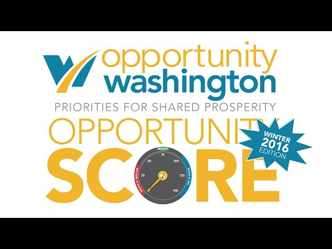 Opportunity Washington's Opportunity Score - 1st Quarter Update