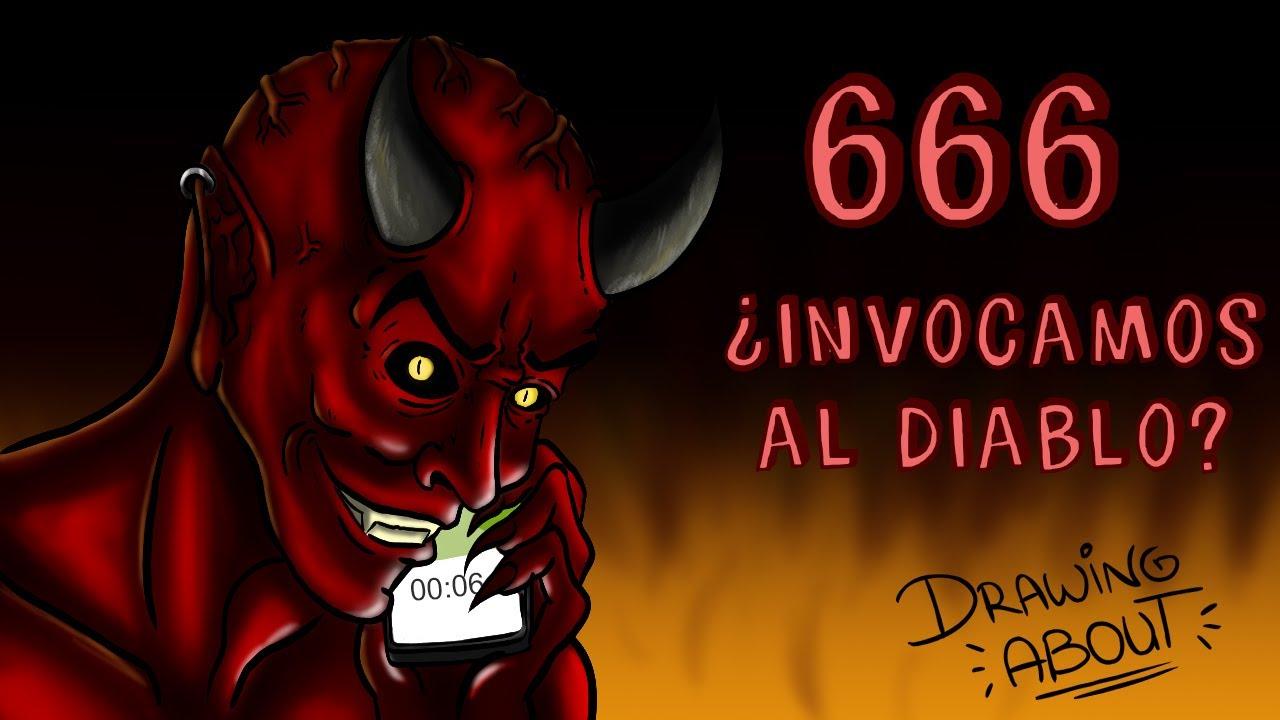 ¿INVOCAMOS AL DEMONIO SI LLAMAMOS AL 666? | Draw My Life
