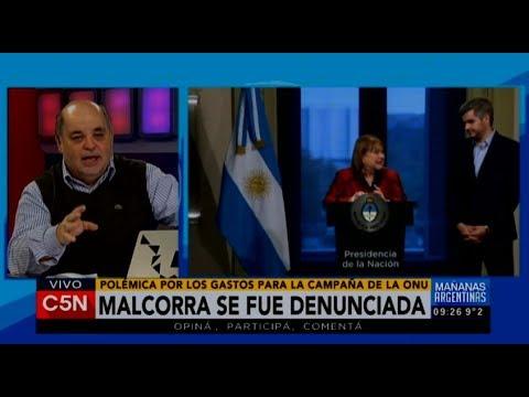 C5N - Política: Susana Malcorra se fue denunciada de la Cancillería