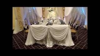 Reception Wedding Decor and Centerpieces Ideas (Dominic and Khaye's wedding)