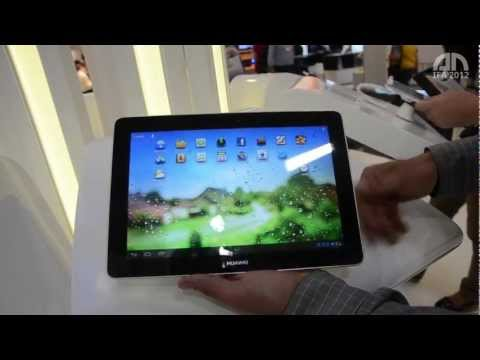 Huawei MediaPad 10 FHD - Hands-On - IFA 2012 - androidnext.de