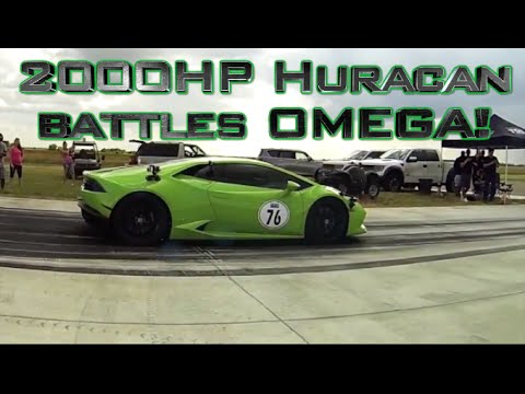 Alpha Omega vs 2000+HP Huracan - Texas Invitational June 2015