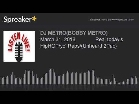 March 31, 2018              Real today's HipHOP/yo' Raps/(Unheard 2Pac) (made with Spreaker)