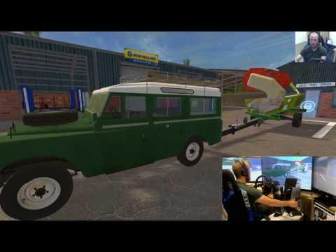 farming simulator 17 lets play Coldborough park farmE1 wheel+joystick