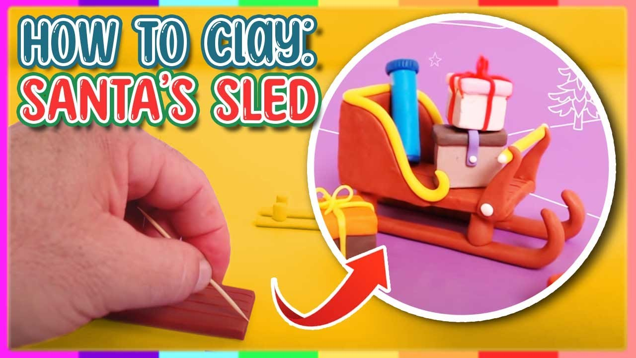 how to sculpt a sled from clay youtube