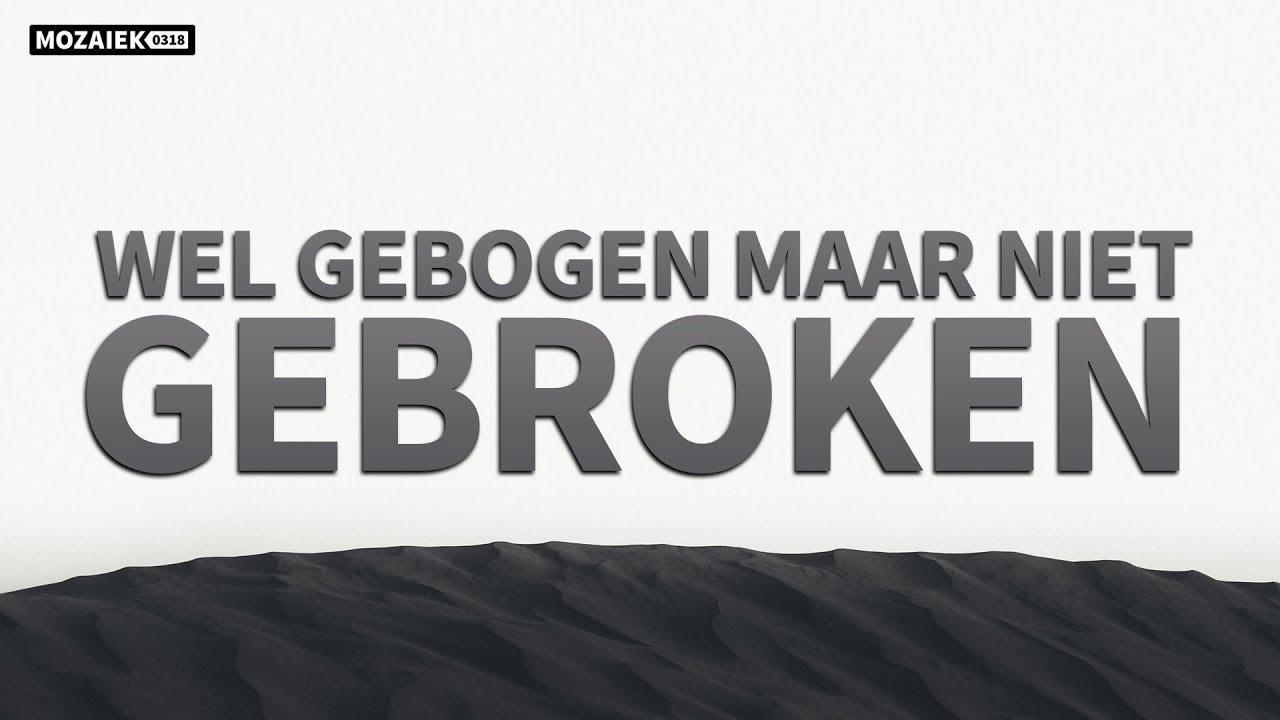 Preek: Wel gebogen maar niet gebroken - Cees van Harten
