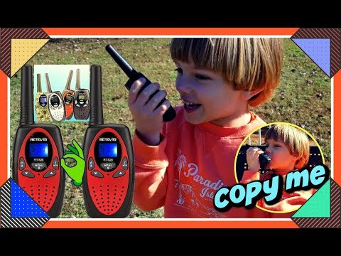 Kids Walkie Talkies Retevis TOY RADIO RT628 Sweetie Fella Aleks APPROVED 🙃PRETENDED PLAY