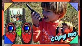 Kids Walkie Talkies Retevis TOY RADIO RT628 Sweetie Fella Aleks APPROVED 🙃PRETENDED PLAY