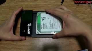 Unboxing Plugable USB 3.0 SATA Hard Drive Lay Flat Docking Station