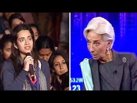 Will Hindu males alone benefit from India's growth, student asks IMF chief