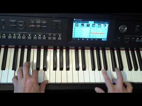 Keyboard bladmuziek; Decemberboek deel 1: Sinterklaas: Sinterklaasje kom maar binnen(Yamaha CVP 605)