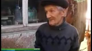 90-летний отшельник живет на берегу Черного моря