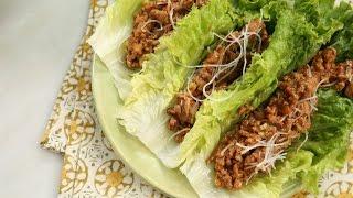 Crispy Ginger-and-Garlic Asian Turkey Lettuce Wraps  Southern Living