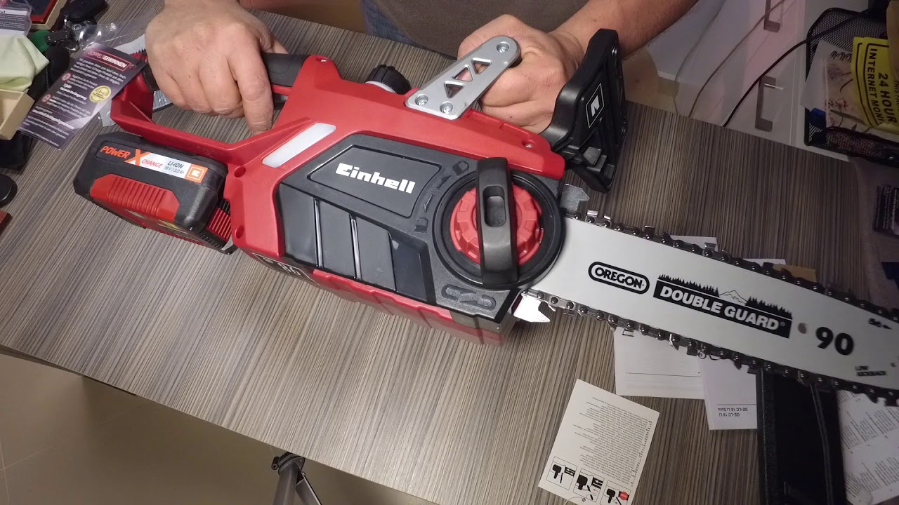 einhell ge lc 18 li unboxing and first test youtube. Black Bedroom Furniture Sets. Home Design Ideas