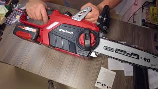 Einhell GE-LC 18 Li Unboxing and first test