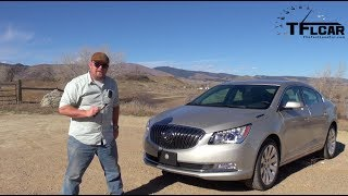 2014 Buick LaCrosse 0-60 MPH Drive and Review