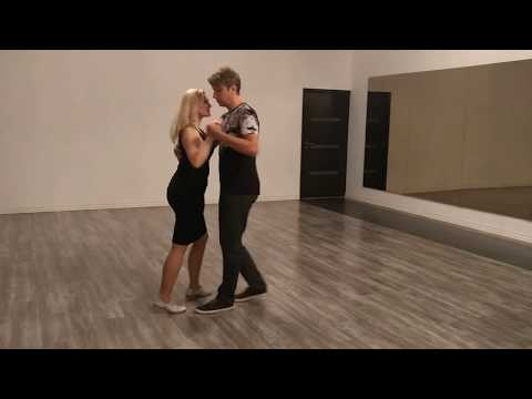 Kizomba training video by Henri and Siret