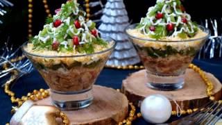 Салат с киви 'Изумрудная россыпь'