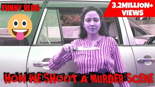 Challenges of shooting a MURDER scene on a Crime Show | An Actor's Vlog