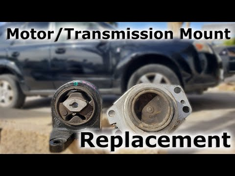 How to Replace Motor Mounts and Transmission Mounts (Saturn Vue AWD 2004-2007)