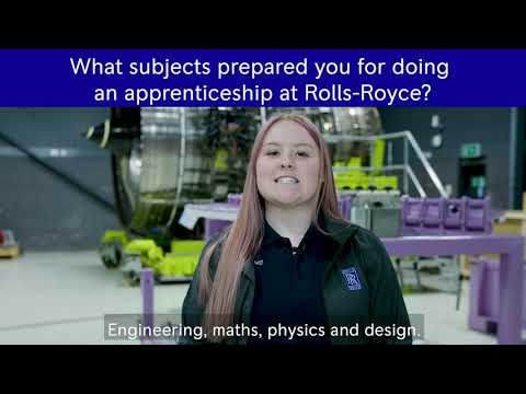 Rolls-Royce | Its surprising which subjects can prepare you for an apprenticeship