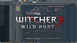 Witcher 3 Geralt Of Rivia Soundtrack with FLP - FL Studio Remake/Recreated (Screencast)