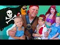 4 YEAR OLD PIRATE MERMAID BIRTHDAY PARTY! ☠️