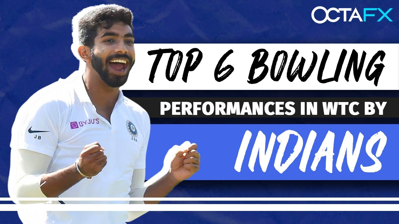 TOP 6 BOWLING performances by INDIANS in the WTC | Octa FX presents 'Sabse Aage'