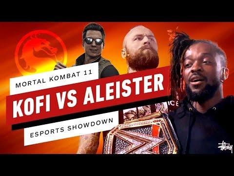 Mortal Kombat 11 - Kofi Kingston VS Aleister Black - Esports Showdown!