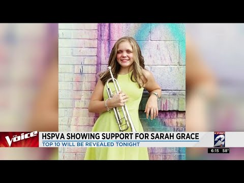 HSPVA showing support for Sarah Grace